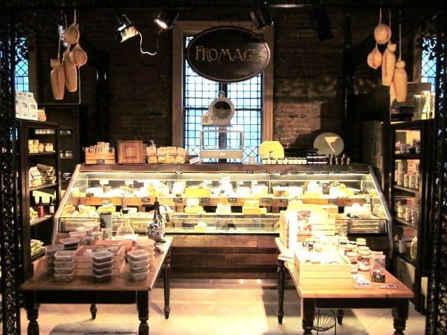loja de laticinios com estilo rustico