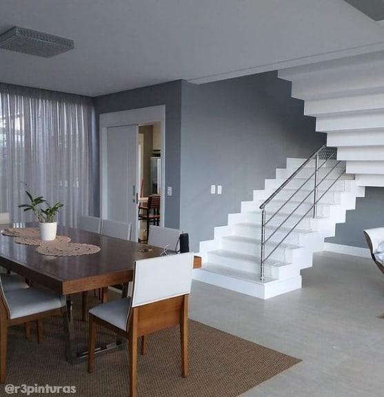 casa moderna com cor elefante suvinil