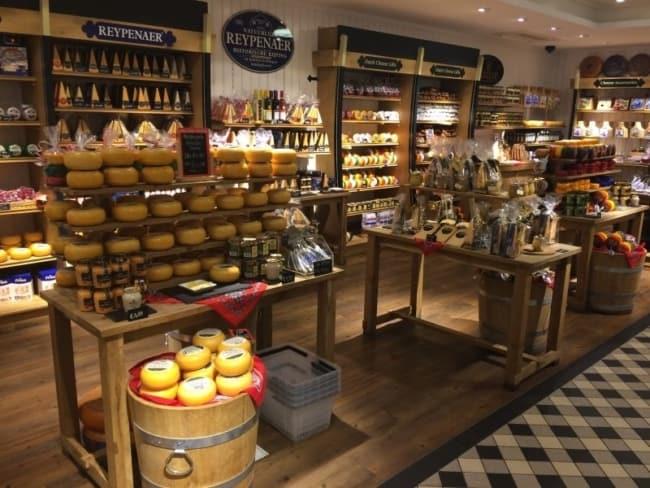 loja gourmet de frios e queijos