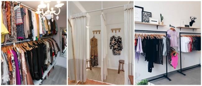 como montar loja de roupas em casa