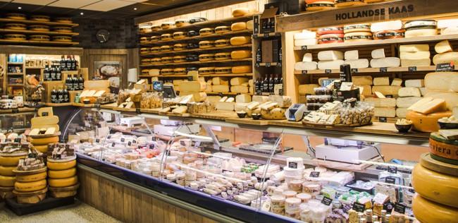 ideia para decorar loja de queijos