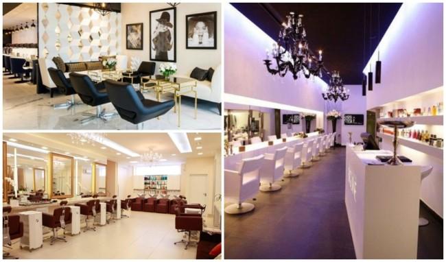 ideias de decoracao de luxo para salao de beleza