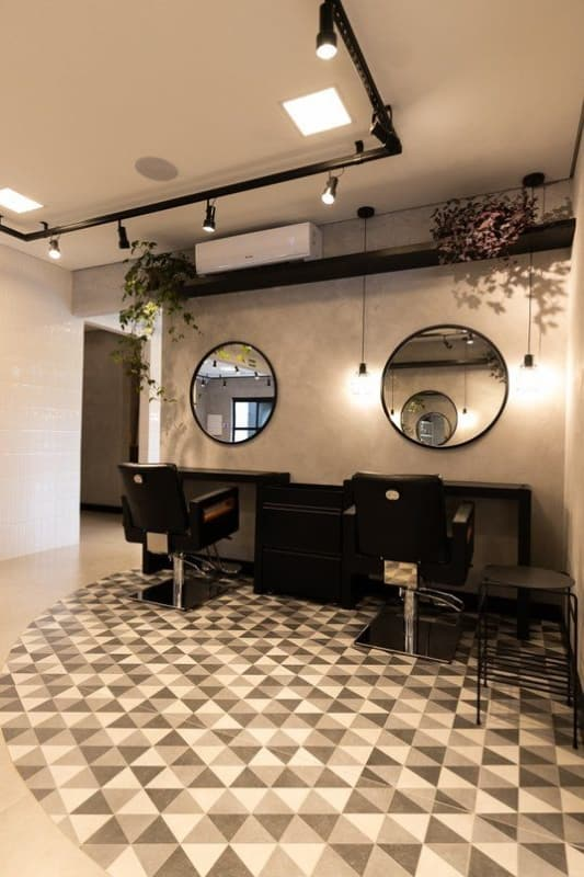 decoracao de salao pequeno e moderno
