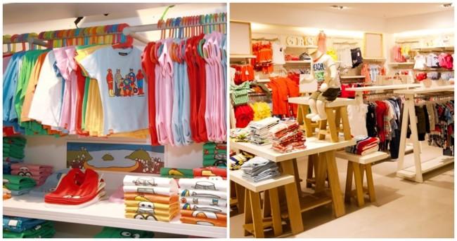 nomes criativos para lojas de roupas infantil