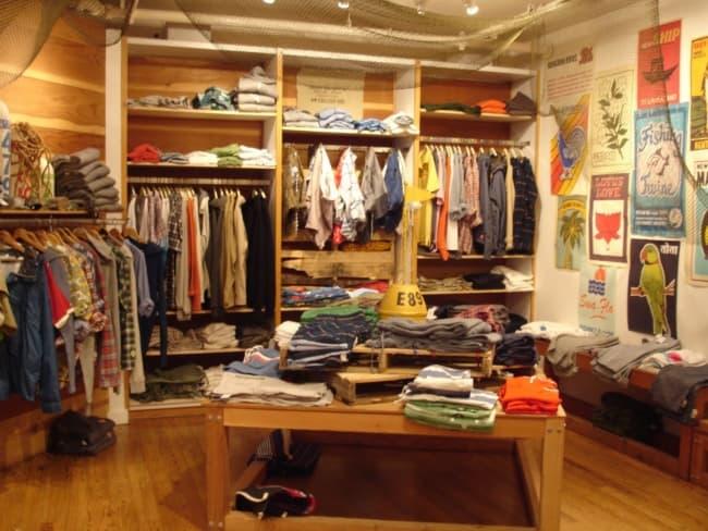 decoracao rustica e simples para loja de roupas em casa