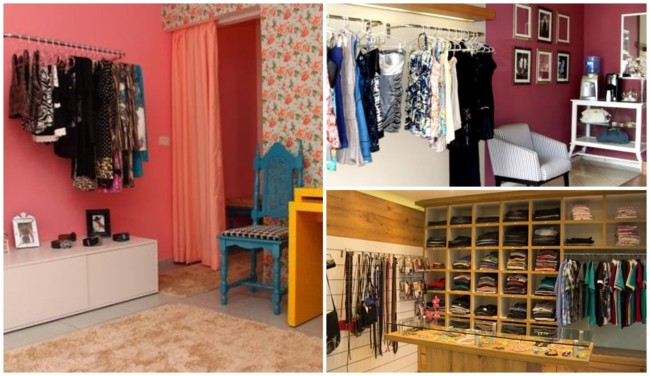 decoracao simples para loja pequena de roupas