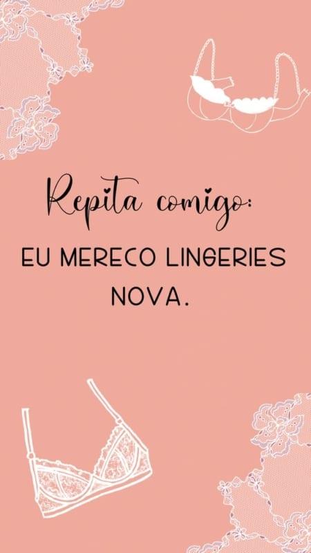 frase para lingerie