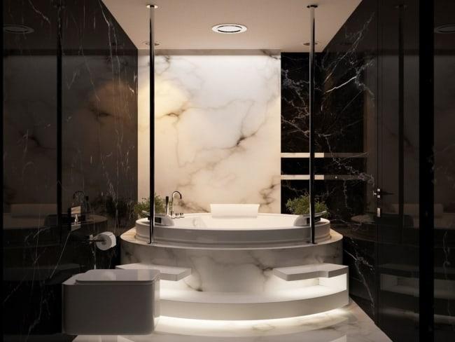 banheiro tumblr de marmore