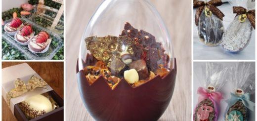 dicas de embalagens para ovo de pascoa de colher