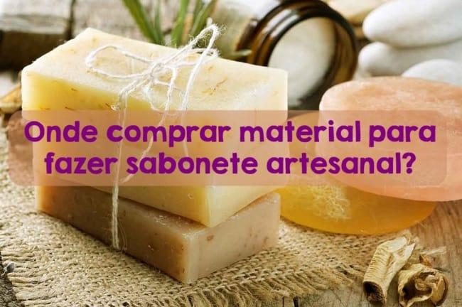 material para fazer sabonete artesanal