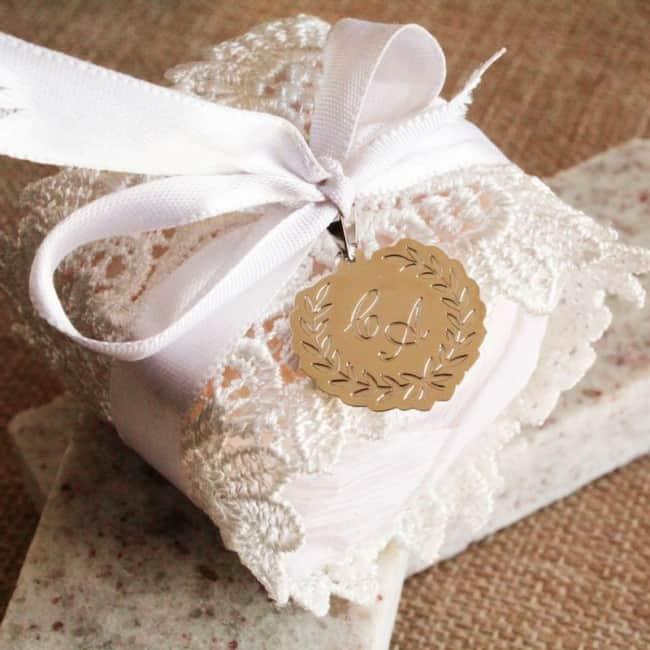 embalagem de pao de mel para casamento