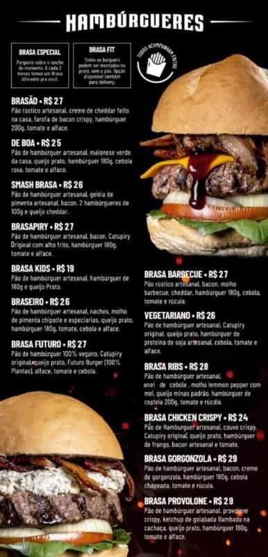 modelo de cardapio para hamburgueria