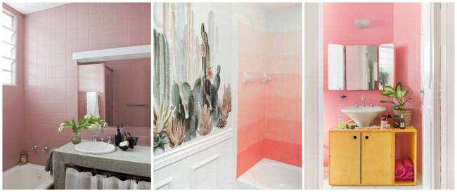 tinta para azulejo rosa