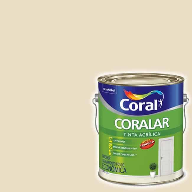 tinta palha Coral
