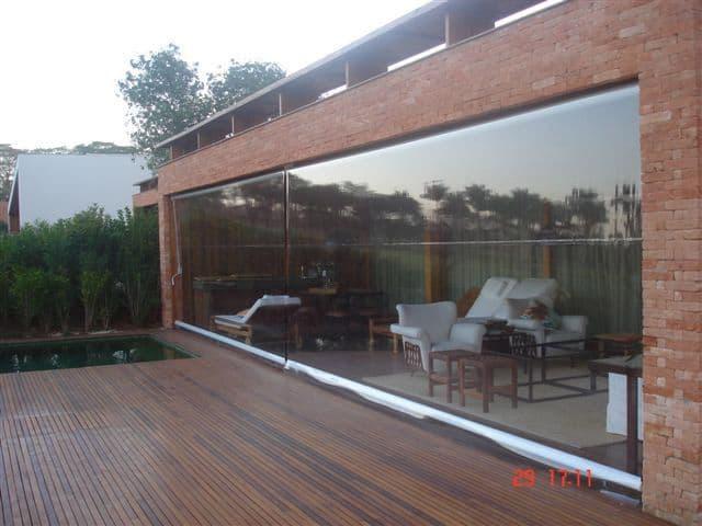 modelo de toldo transparente para varanda