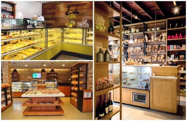 ideias de decoracao para padaria rustica
