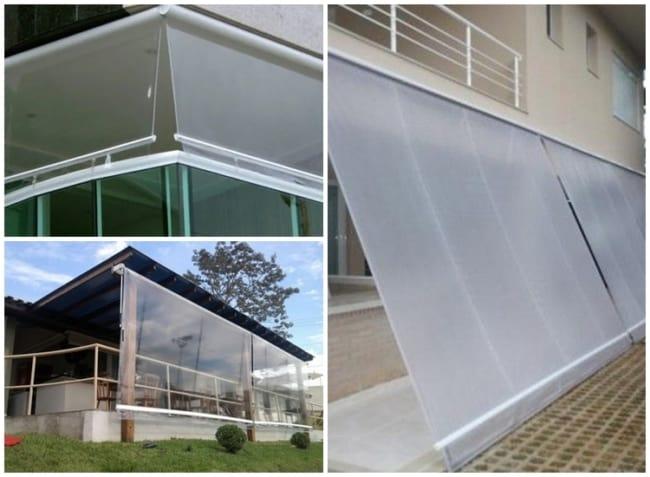 toldo transparente para varanda