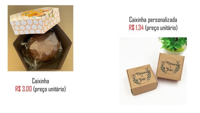 loja online para comprar embalagem de pao de mel