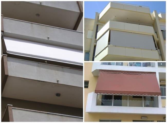 toldo para varanda de apartamento