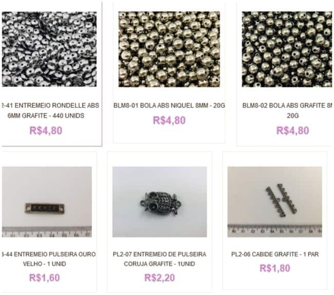 dicas para comprar materiais para bijuterias