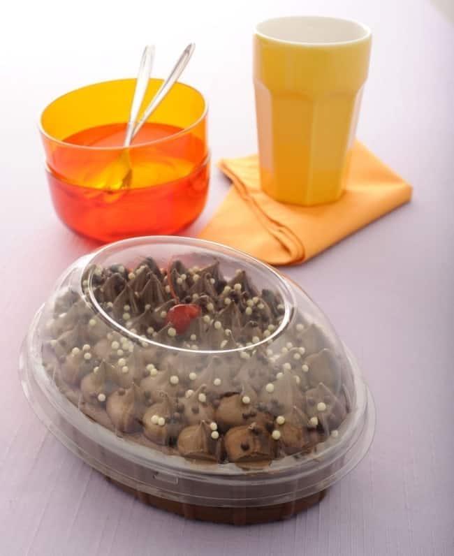 embalagem plastica com tampa para ovo de colher