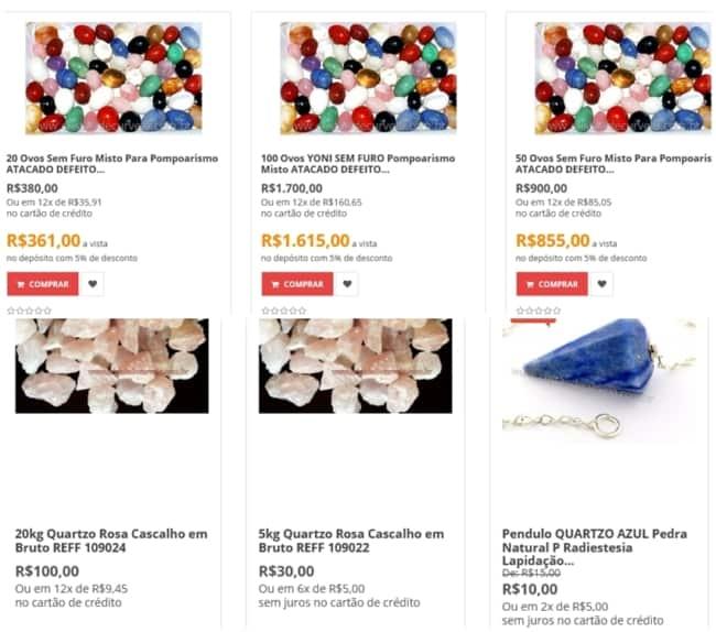 loja online para comprar pedras para bijuteria