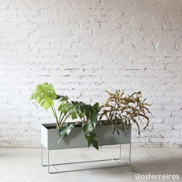 floreira de chao clean e moderna