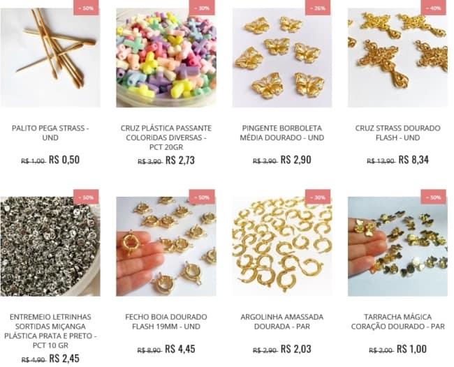 dicas para comprar materiais para bijuteria