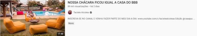 dicas para youtube