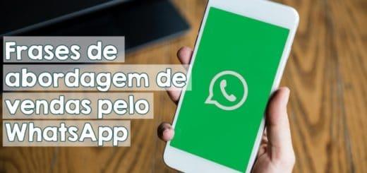 frases de abordagem de vendas pelo WhatsApp