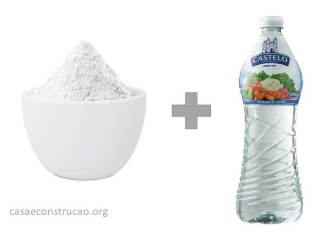 como desencardir pano de prato com bicarbonato