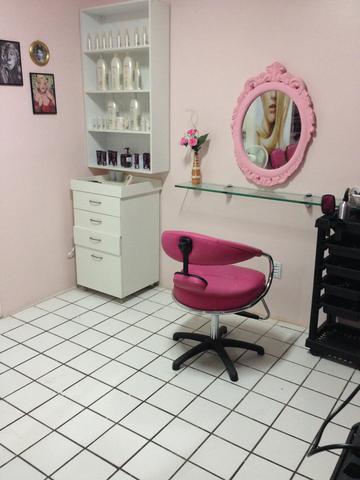 estilo simples para salao de beleza em casa