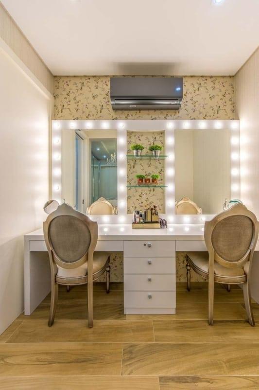 salao de beleza em casa com decoracao aconchegante