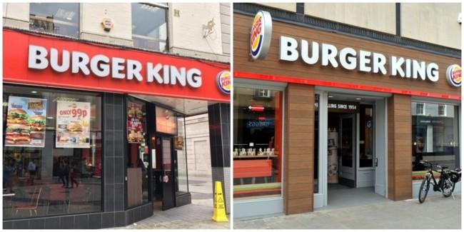modelos de loja para franquia Burger King