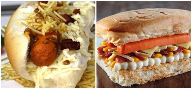 sabores de hot dog com bacon para vender