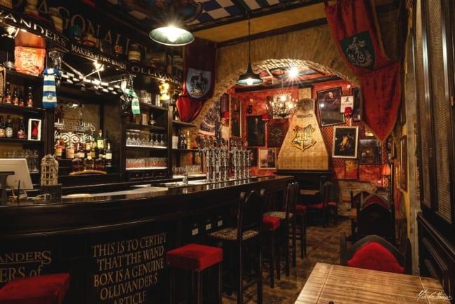 decoracao de bar tematico Harry Potter