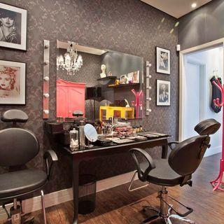 salao de beleza em casa com decoracao moderna