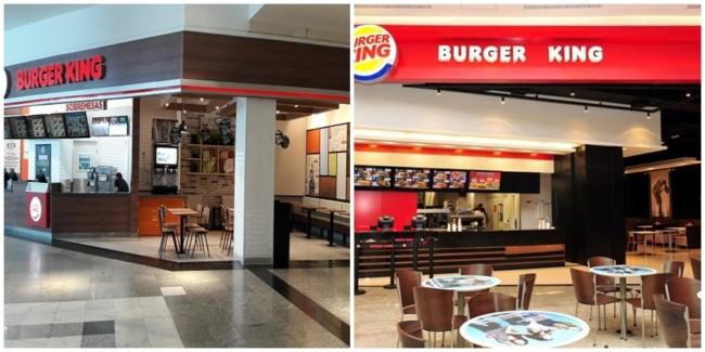 modelos de lojas burger king