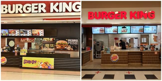 como funciona franquia Burger King
