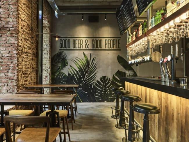 ideia criativa para decorar bar pequeno